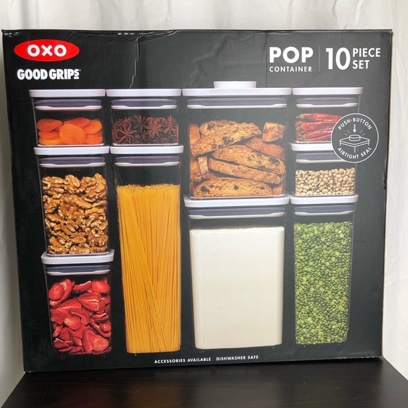 OXO Other - OXO Good Grips Pop Container 10pc Set New